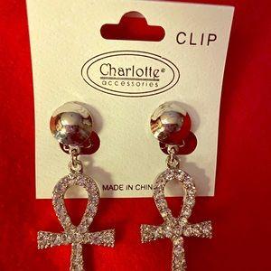 Cross Bling Earring's